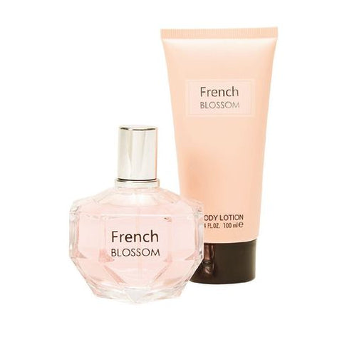 Lovali Fragrance 90ml French Blossom + 100ml Lotion 2 Piece Set