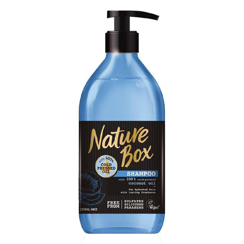 Nature Box Shampoo Coconut 385ml