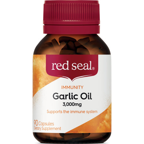 Red Seal Dietary Supplement Garlic Oil 3000mg capsules 90pk