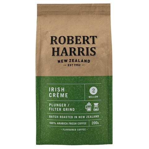 Robert Harris Plunger & Filter Grind Irish Cream 200g