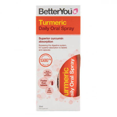 BetterYou Turmeric Daily Oral Spray