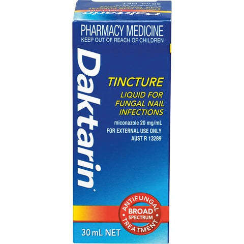 Daktarin Tincture for Fungal Nail Infections 30ml