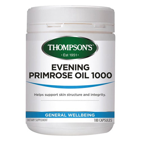 Thompson's Evening Primrose Oil 1000mg Capsules 300s