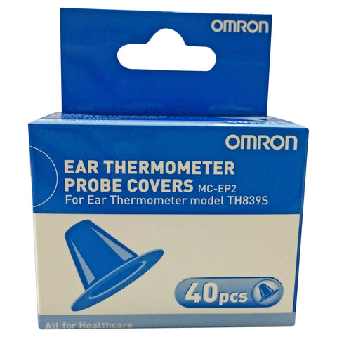 Omron TH839S Ear Thermometer Probe Covers 40s