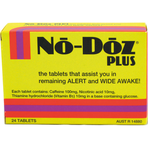 No Doz Plus 100mg Tablets 24s
