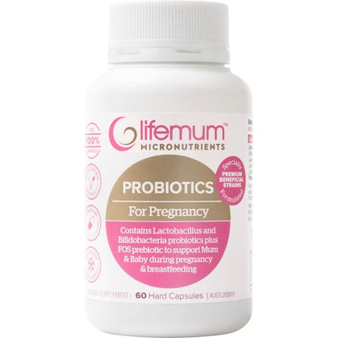 Lifemum Probiotics for Pregnancy Capsules 60s - Clearence