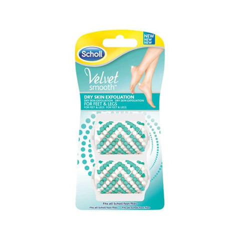 Scholl Velvet Smooth Refill - Exfoliating 2s