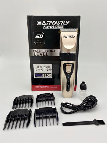 Rechargeable Hair Clipper - Wireless, Ceramic Blade, USB Charging & More