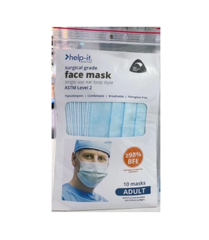 Help-It Level 2 Surgical Face Mask (10 masks)