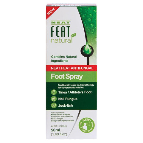 Neat Feat Antifungal Foot Spray 50Ml