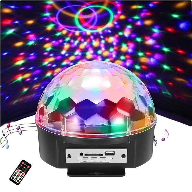 LED Party Light with Bluetooth Speaker