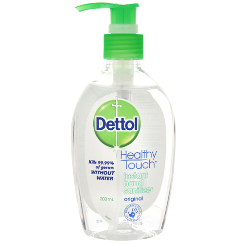 Dettol Instant Hand Sanitizer Original 200ml