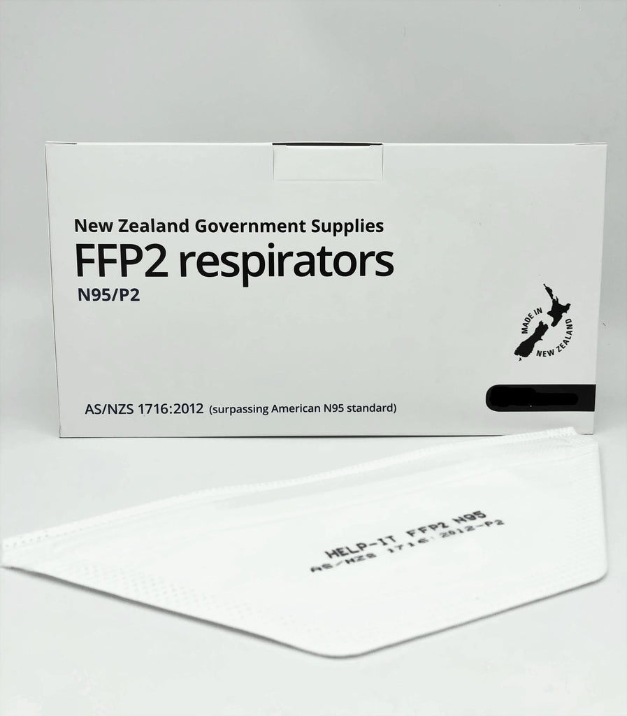 Help-It N95/P2 Respirators Face Mask - 1 PCS