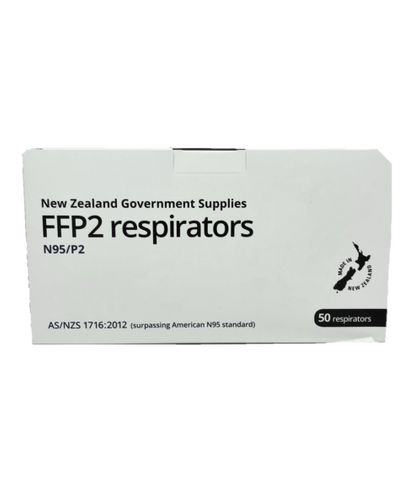 Help-It FFP2 Respirators Helpit N95/P2 Face Mas k- Box Of 50pcs