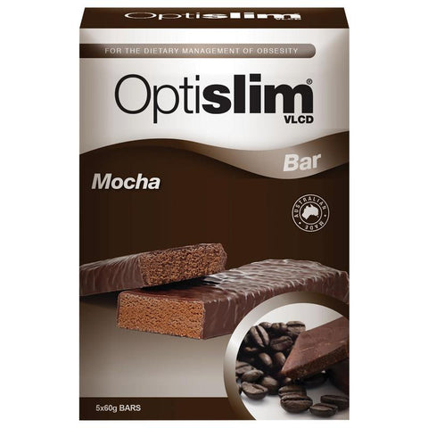 OptiSlim VLCD Bar Mocha 5x60g