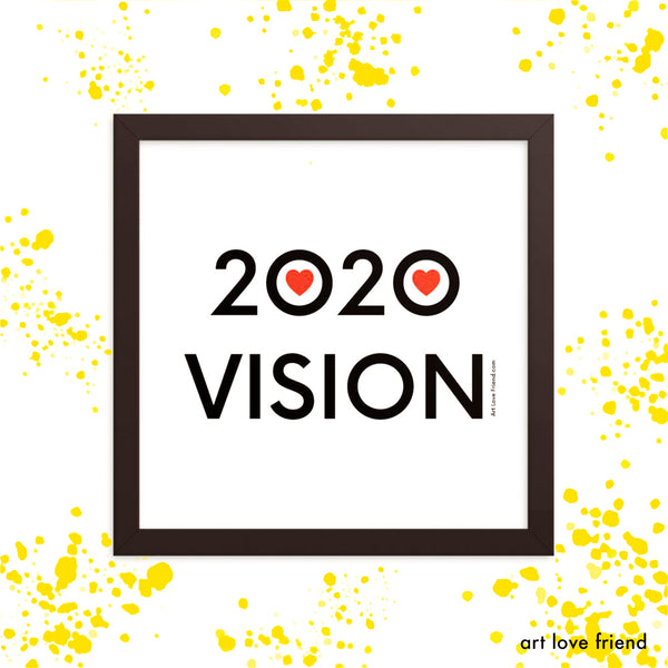 2020 VISION COLLECTION  - LOVE, PRESERVE & SAFEGUARD OUR PLANET!