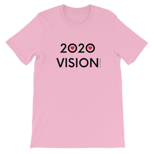 Image of 2020 VISION - Adult Short Sleeve Unisex T-Shirt - LILAC COLOR OPTION by Art Love Friend.