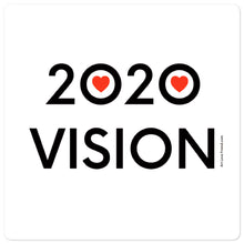 5.5 x 5.5 inch image of 2020 Vision sticker by Art Love Friend.