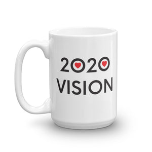 Image of 2020 VISION - 15oz. Mug - SIZE OPTION by Art Love Friend.