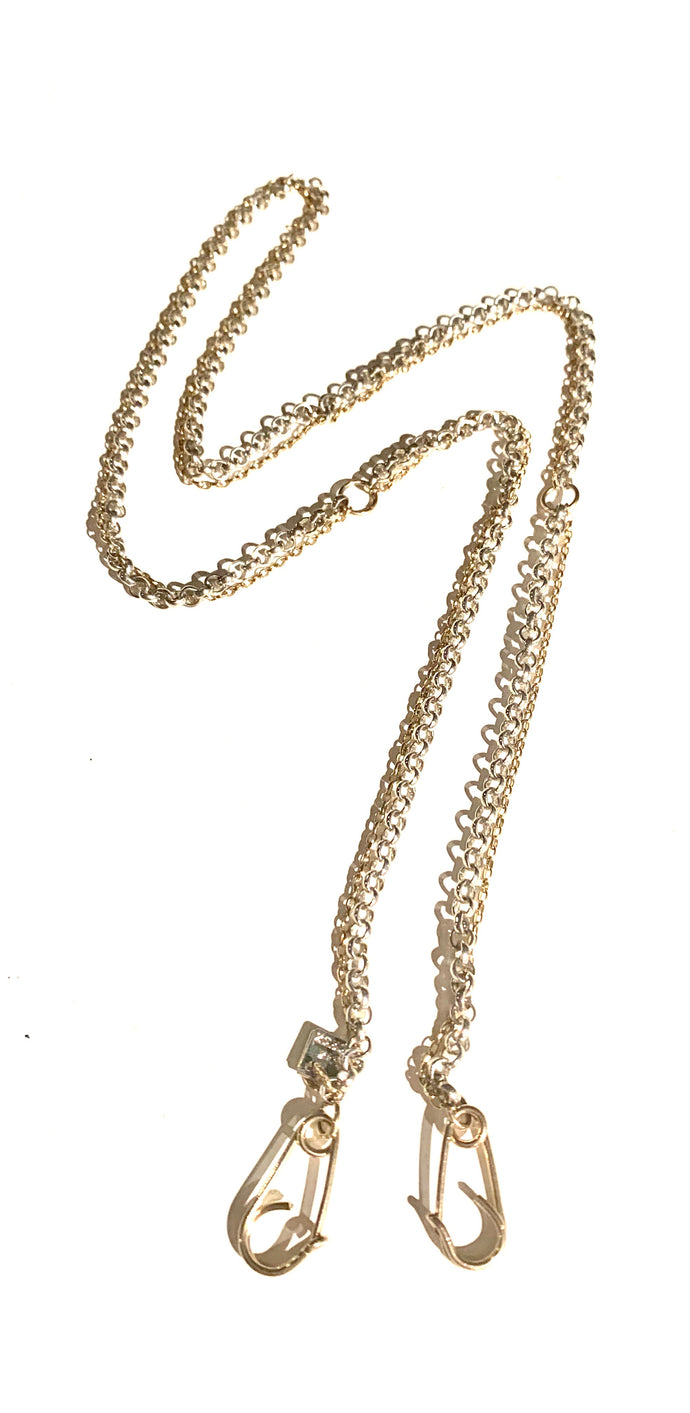 2020 Gold.    (Versatile Mask holder or necklace you'll really want to wear)