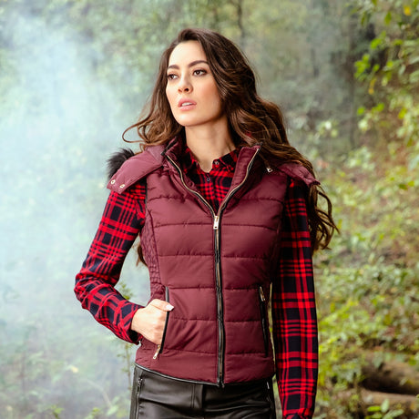 CHALECO CASUAL MUJER HOLLY LAND 2669
