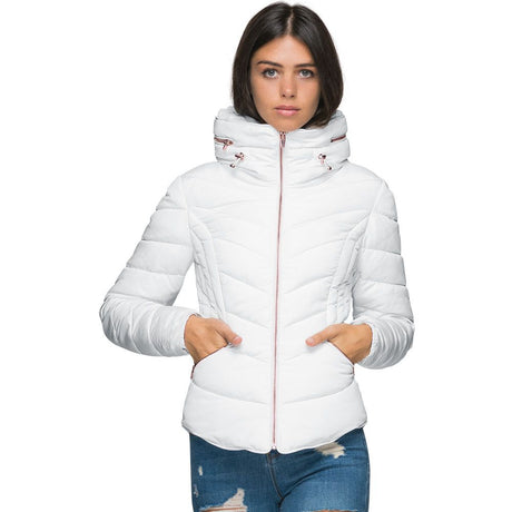 Chamarra Blanca Casual Mujer Holly Land 8073