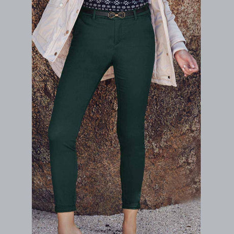 Pantalon Negro Casual Mujer Holly Land