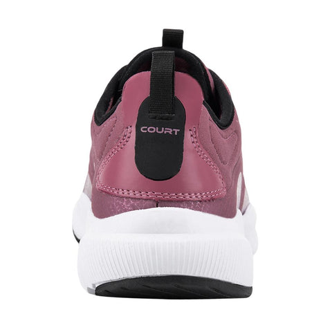 Tenis Rosa Court Mujer