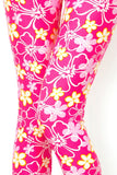 Pink Floral PS Legging - Arrives 12/16