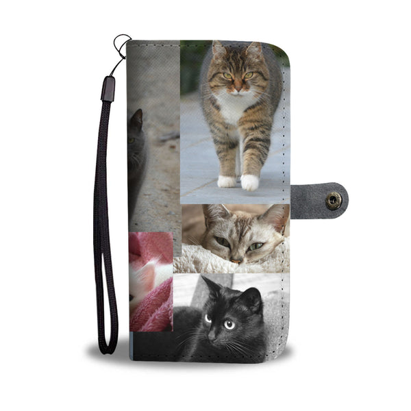 Cat Cell Phone Case With RFID - Custom Printed By Keene's