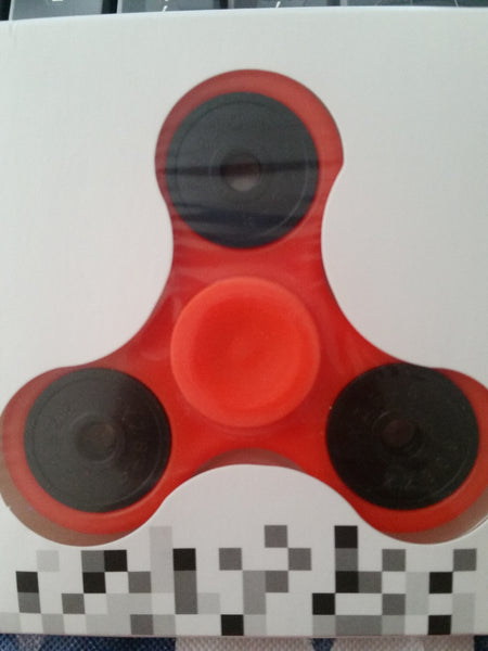 Spinners Solid in Green, Orange, Pink, Red, White or Yellow