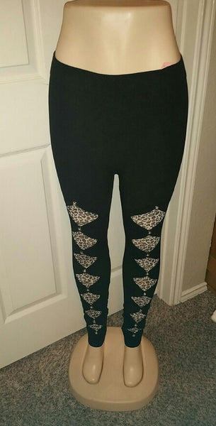Diamond Cutout Animal OS Legging