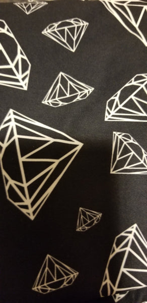 Custom Black Diamond Print EPS