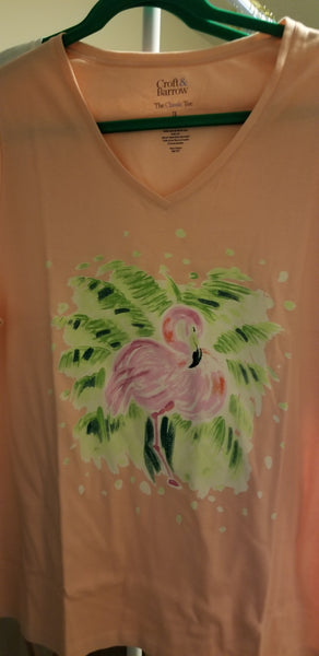 Flamingo Women T-Shirt (1x, 2x, 3x)