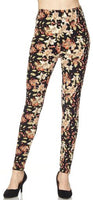 Floral Berry OS Legging
