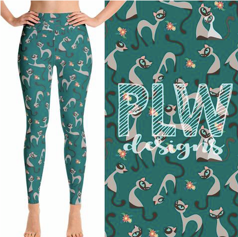 Custom Siamese Cat PS Legging