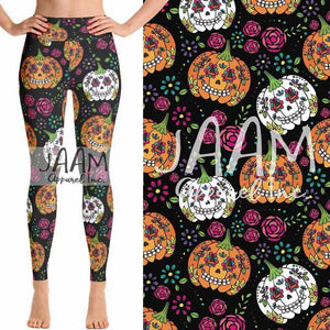 Custom Pumpkin OS Legging
