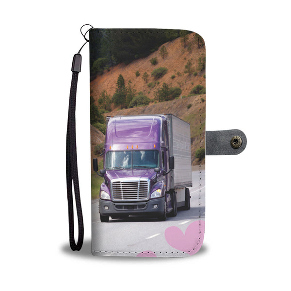 Thank A Trucker Cell Case with RFID