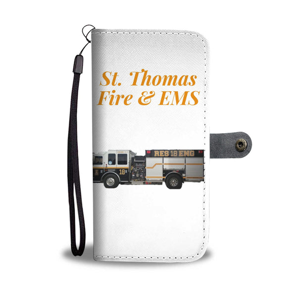 St Thomas Fire and EMS Cell Case With RFID