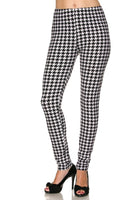 Houndstooth OS Legging
