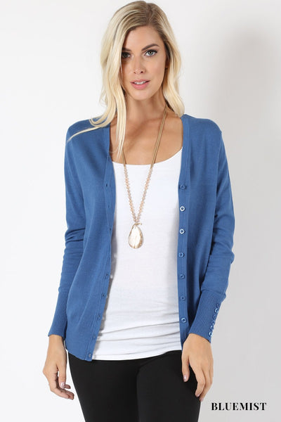 New Button Cardigan Top