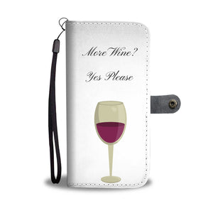 Wine Wallet Cell Phone Case With RFID