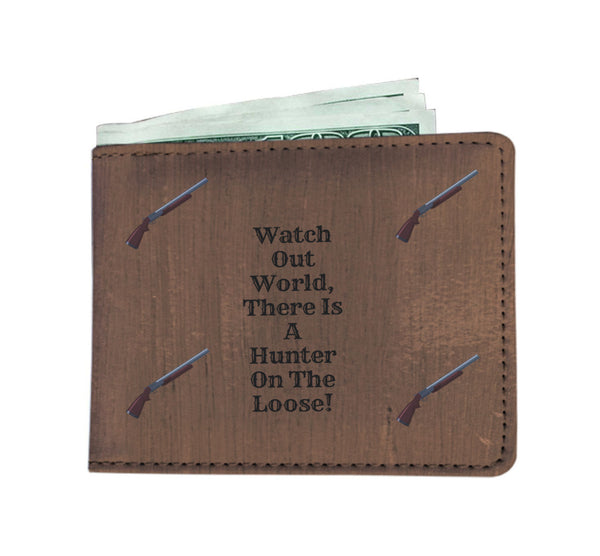 Hunter Mens Wallet With RFID - Custom Printed By Keene's