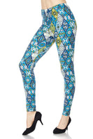 Blue Diamond Plus Legging