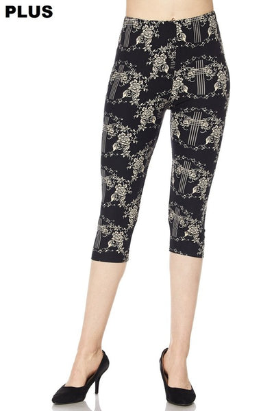 Cross Capri PS Legging