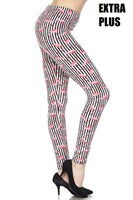 Flamingo Stripe EPS Legging