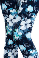 Blue Flower Plus Legging