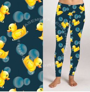 Custom Ducky PS Legging