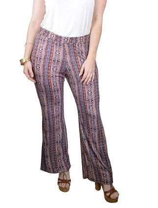 Curvy Slight Flare Pant