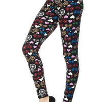 Hearts Curvy Legging